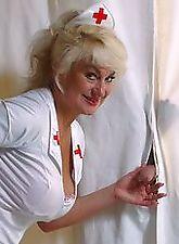 Horny granny slut has great slit