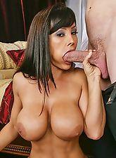 Lisa Ann in a spoof video Eyes Wide Slut