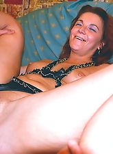 Horny MILF loves big cocks for recreation