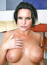 Big titted Mama getting fucked by her massotherapist