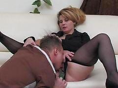 Paulina&Adrian mature pantyhose video