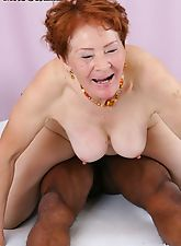 ride that black cock like the mature slut you are