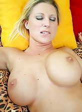 Big titted milf Devon Lee getting pussy ripped by young cock
