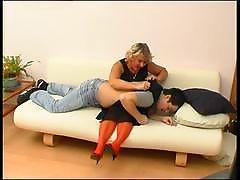 Margaret&Adam horny mom on video